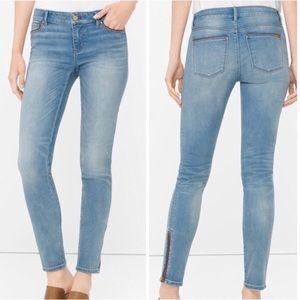 WHITE HOUSE BLACK MARKET Skimmer Ankle Jeans Sz. 0